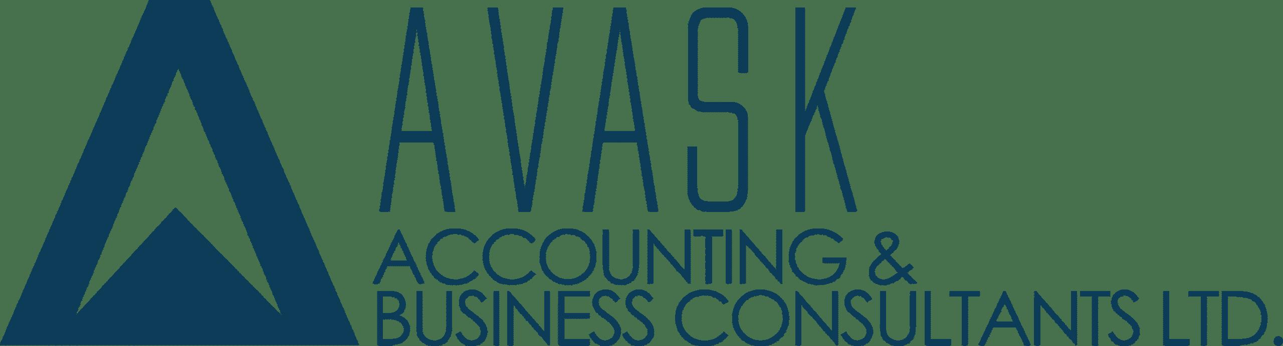 2020 - AVASK logo dark blue